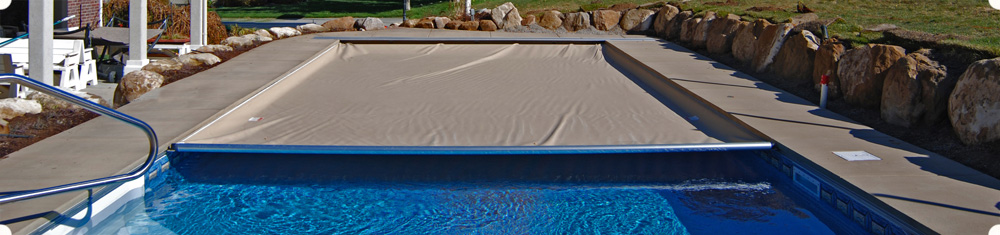 banner automatic pool covers